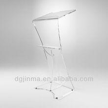JDZ-AP075 Custom LOGO print modern pulpit;church pulpit furniture;custom pulpits;