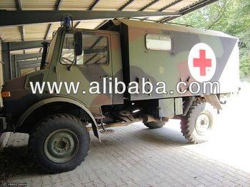 Mercedes Unimog 435 U1300 Ex-Government ambulance