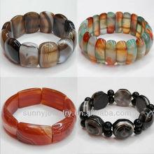 SPH001 bracelets bangles, 7-9 inch per pc, wholeslae agate bracelet