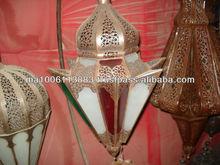 Pendant light & antique chandliers