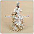 Sanstone kuan yin-statue, weibliche buddha statue, stein buddha garten brunnen