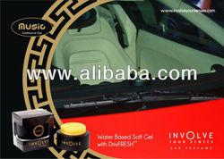 Luxury Water based Gel Car Air Freshener. Long Lasting Made in India Car Perfume