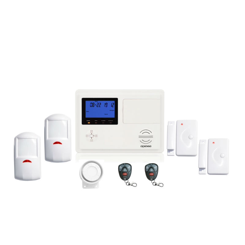 Op-d99 PSTN y GSM de doble red WIRELESS KIT de alarma