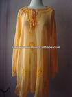 Wonderful Fashionable Export Quality Peachy Ethereal Ethnic Godess Gauze Tunic Dress 2014