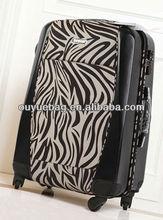 wholesale 2015 Fashion travel zebra-stripe luggae bag traveling bags