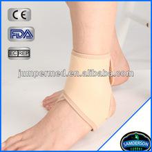 beige elastic neoprene sportsmen ankle straps ankle brace