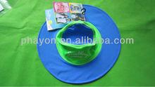 100% polyester hot sale ladies children beach hat