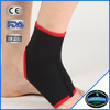 black binding elastic soft neoprene spandex ankle band ankle brace