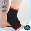 black binding elastic soft neoprene spandex ankle wraps ankle brace