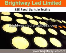 high lumen 10 inch 17w ultra-thin round flat ceiling panel led light