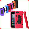 Factory Price Robot Design for iPhone5c Combo Stand Case