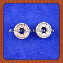 Deep groove ball bearing for sliding door hanging pulleys