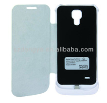 Hot selling battery case for samsung s4 mini power pack case 2600mAh wireless charging case