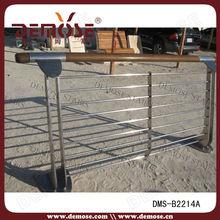 outdoor artistic steel handrail