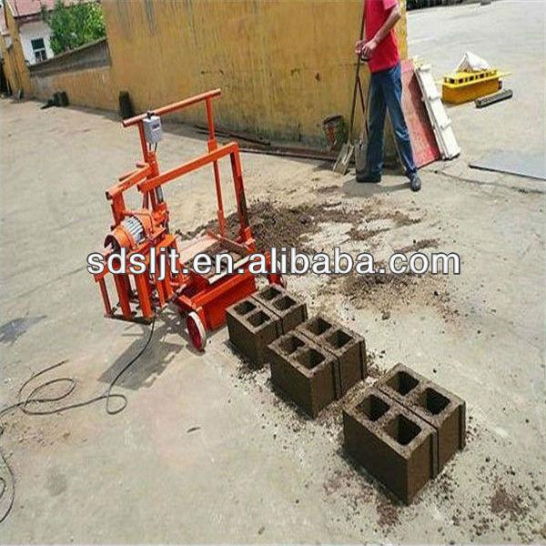 Presse mécanique pour les briques qmj2-45 bloc faisant la machine fabriqué en chine