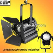 High CRI 100W/200W led fresnel spot light for studio