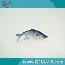 King salmon fishing lures, metal link section fishing bait