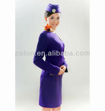 Elegant airways cabin crew uniform