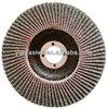 aluminium oxide abrasive flap disc/ flexible flap disc