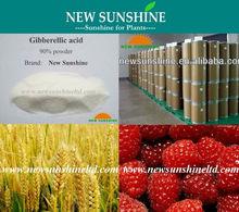 GA3 Gibberellin 90% TC White powder hormone