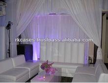 Exhibition pipe & drape telescopic pipe and drape,wedding pipe and drape