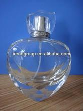 heart shaped glass bottle perfume bottle 100ml