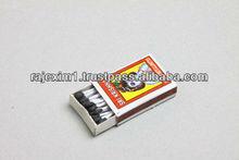 Indian Wax Matches for Belgium Market