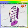 custom POP shopping mall supermarket store retail metal swivel display stand