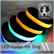 LED Glowing Collar Safety Flashing Light Lamp For Pet Dog Cat
