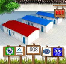 Cheap and pre-built insulated prefab living quarter/modular house for office