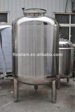 sanitary stainless steel food oil tank