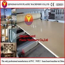 pvc foam board making machine wood plastic composite machine