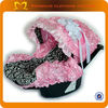 Funny safty baby car seat cover Damask 3D Rosette infant car seat canopy cover