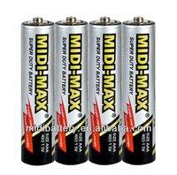 Midi-Max zinc-carbon AAA R03 um-4 dry battery