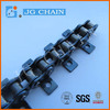 C08B-KI conveyor rollers chain with K1 attachment