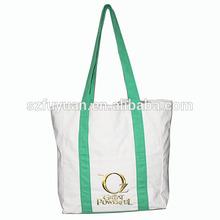 dual function cotton canvas shopping bag