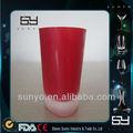 Alta calidad de agua helada del vaso de vidrio / vidrio