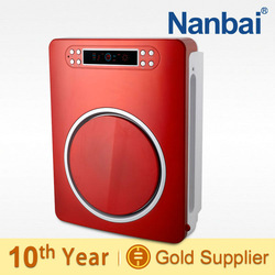 Nanbai negative ion fresh air active carbon absorb odors and dust quiet air purifier
