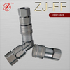 ZJ-FF Flat face series hydraulic quick coupling Compatible with PARKER FE
