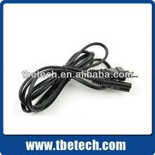 VDE EU AC power cord CEE 7/7 to IEC C7 125V/250V 10A/16A