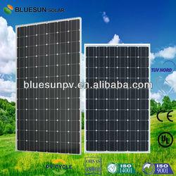 Bluesun top quality mono and poly 390 watt solar panel