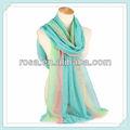 Linho moda cachecol pashmina xale RWJ221