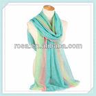 fashion linen scarf pashmina shawl RWJ221