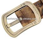 High quality fashion zinc die cast metal alloy cross western belt buckle