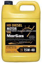 MorGas 15W40 Diesel Engine Oil CJ-4, GAL BOX