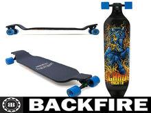 Backfire Landyachtz Evo Horse Downhill 9x39 Complete Longboard Skateboard 2013