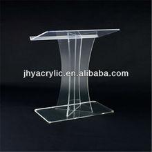 Hot sale High Quality clear plexiglass podium acrylic rostrum lectern pulpit for wholesale