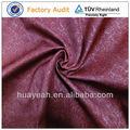 nuevo diseño de terciopelo rojo oscuro tapicería de sofá de la tela