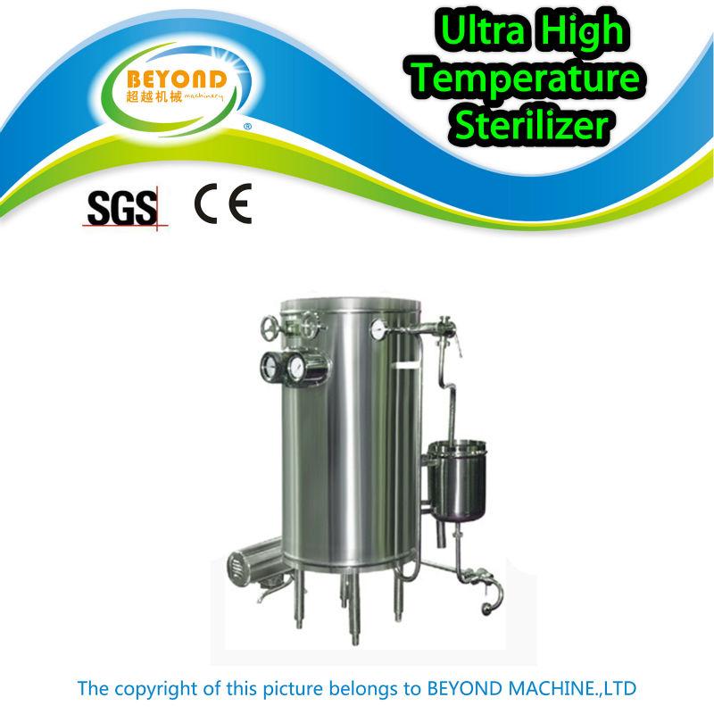 Ultra alta temperatura leite esterilizador uht