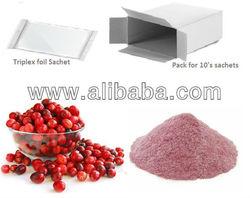 Cranberry sachets 36mg PAC